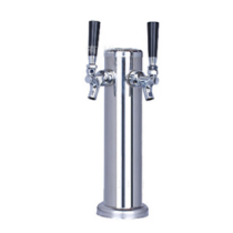 Column Tower with 2 Unadjustable Tap